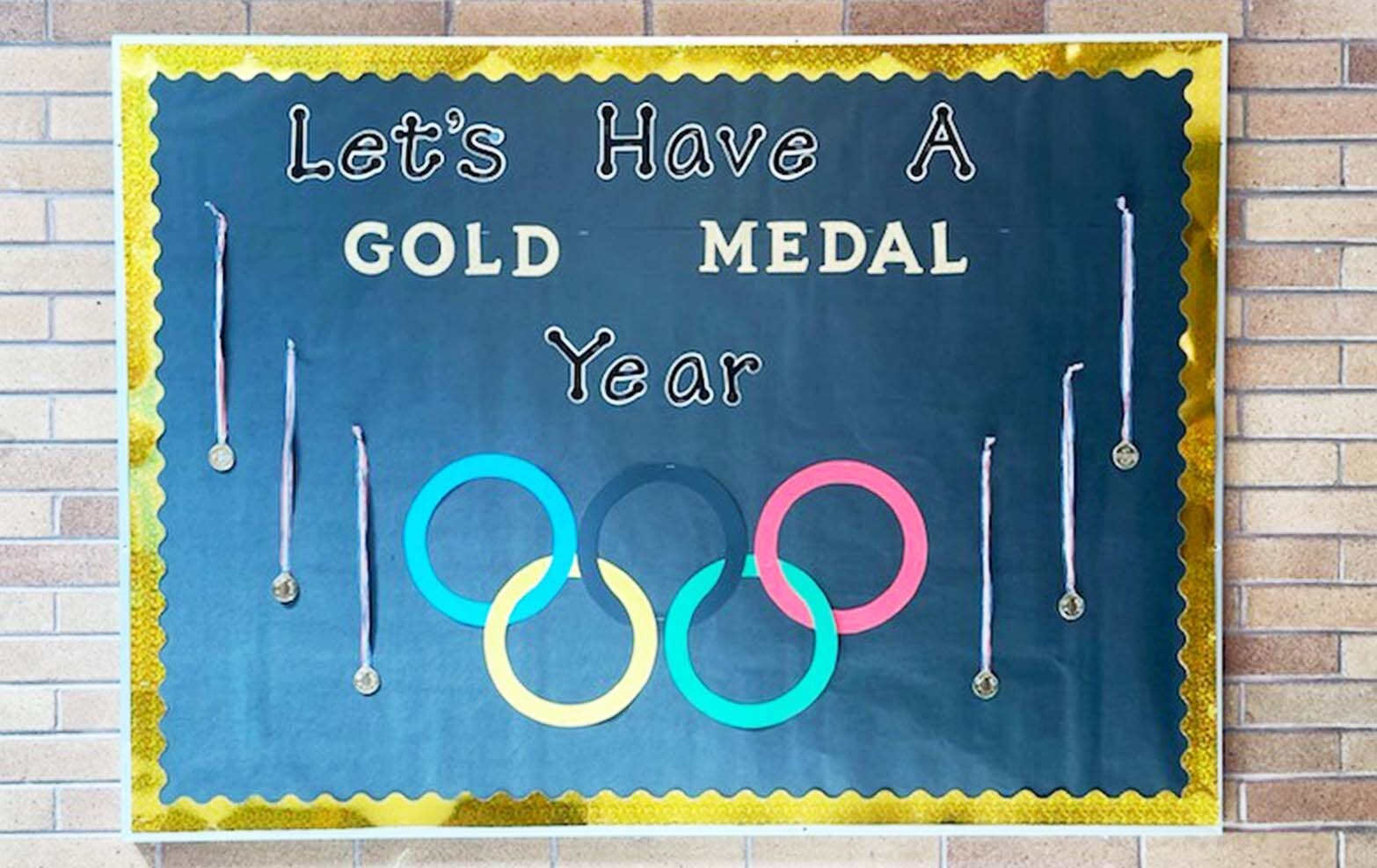 Poster-Let's have a gold medal year